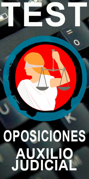 app gratis test oposiciones a auxilio judicial