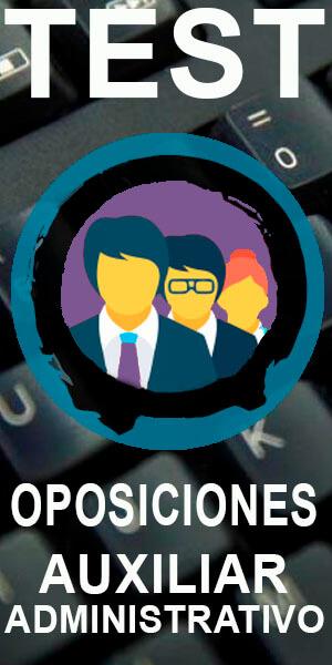 app gratis test oposiciones auxiliar administrativo del estado
