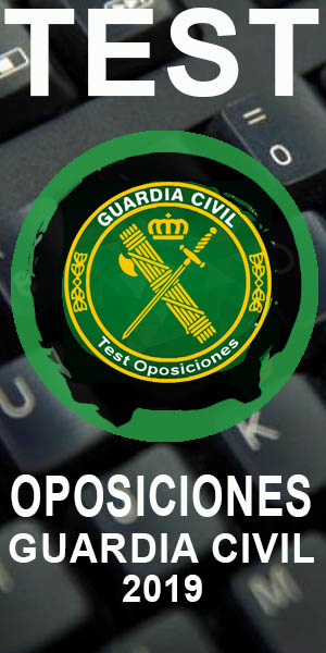 Test Oposiciones Guardia Civil 2019
