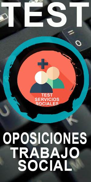 test oposiciones trabajo social